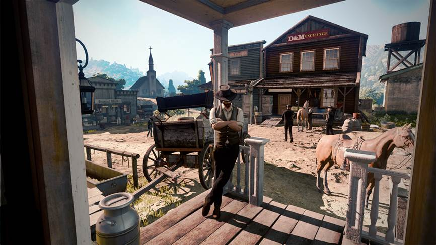 Red Dead Redemption 2: emersa la prima immagine off-screen?