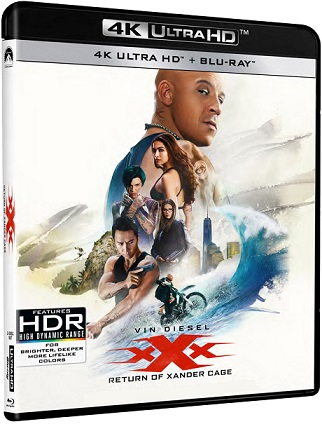 xxx il ritorno di xander cage recensione 4k blu-ray