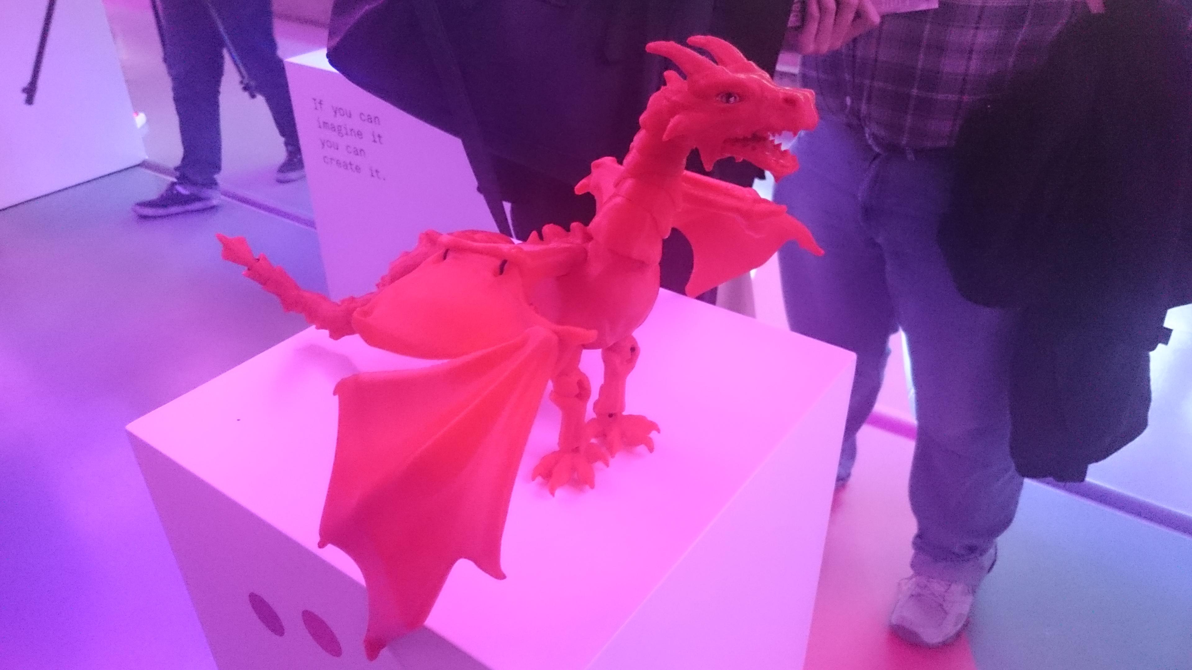 Drago Stampato 3D