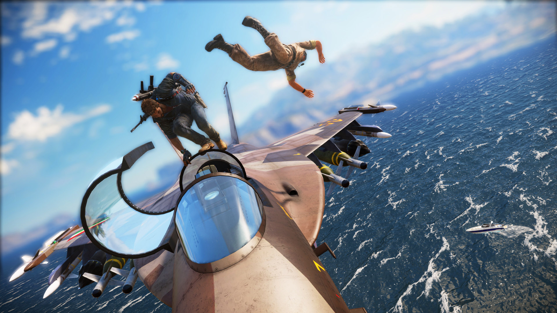 Just Cause 3 Elicottero Per Reportage : Just cause anteprima stay nerd