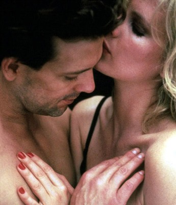 Kim Basinger e Mickey Rourke in 9 1/2 weeks