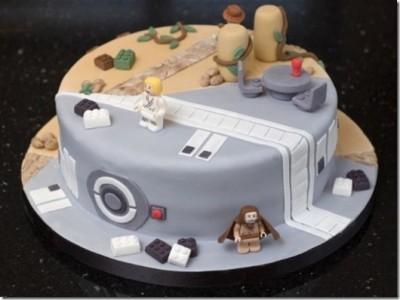 LEGO Star Wars and Indiana Jones Cake mrs mac creative cakes2
