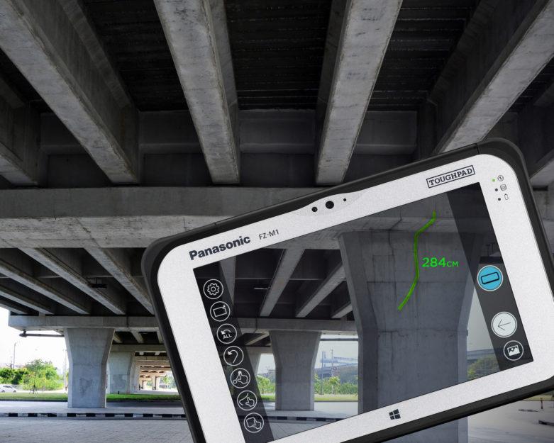 Panasonic_Toughpad FZ-M1 RealSense_bridge