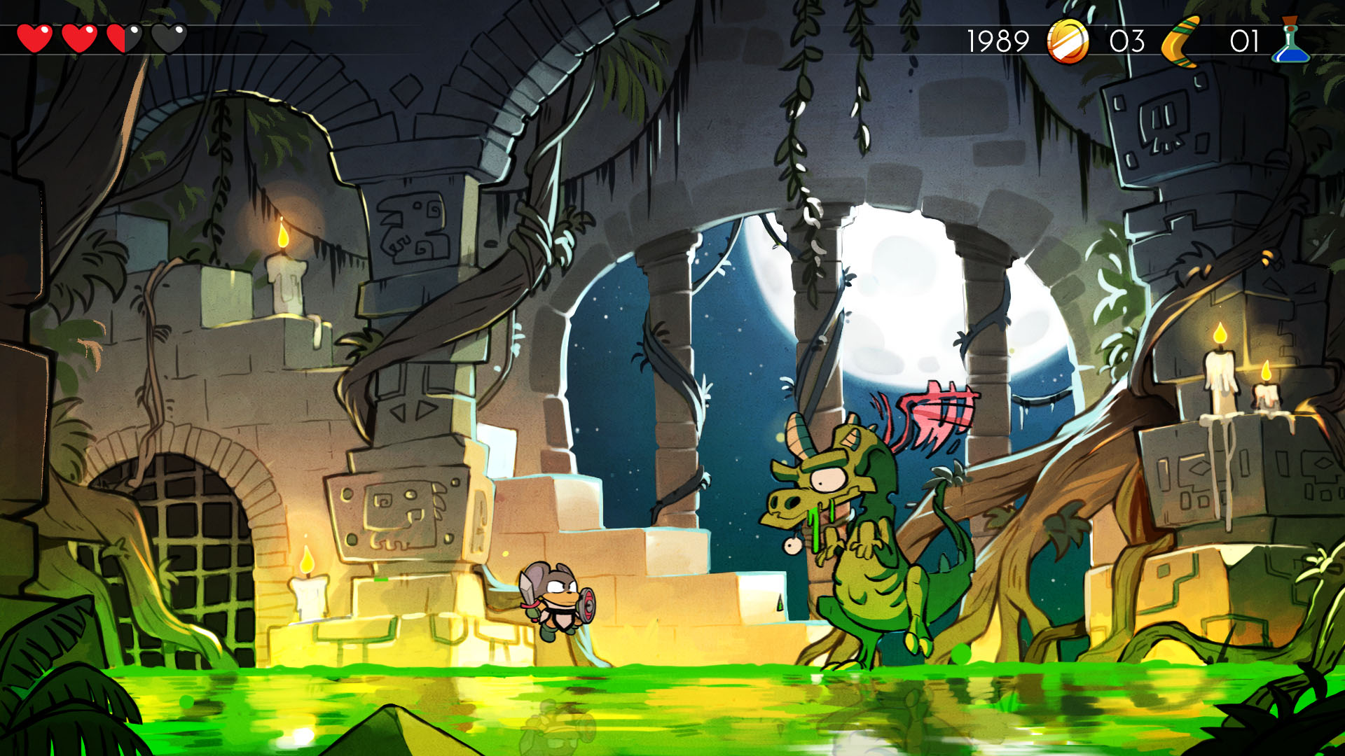 Wonder Boy: The Dragon's Trap Recensione