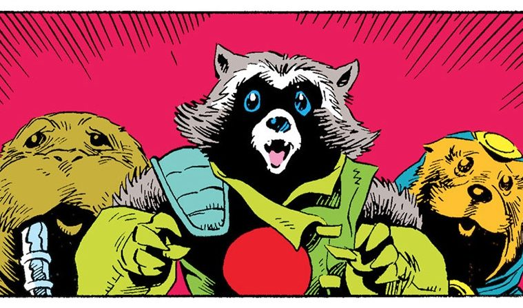 rocket raccoon: il guardiano del quadrante keystone