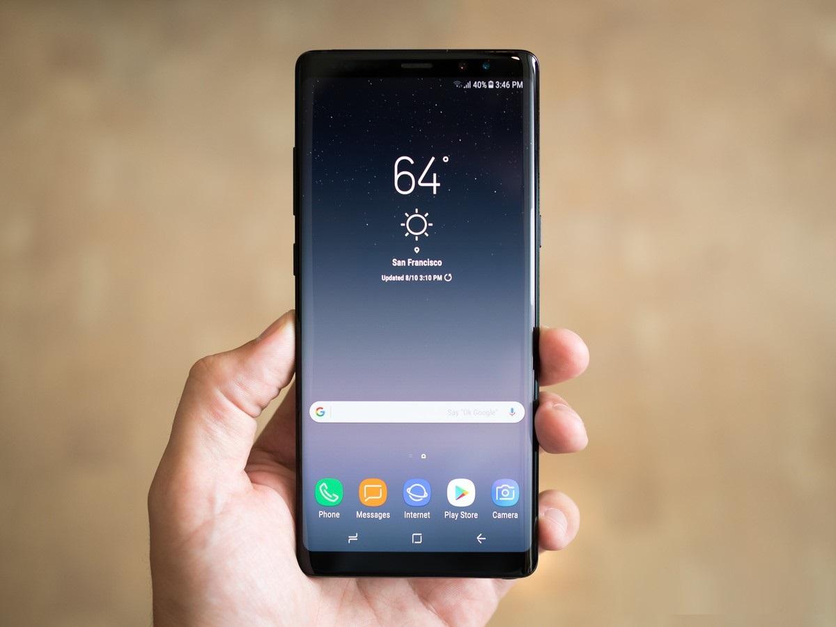 Con Samsung Galaxy Note 8 la rete 4.5G di Vodafone