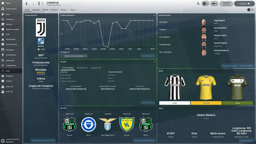 Football Manager 2018 Recensione