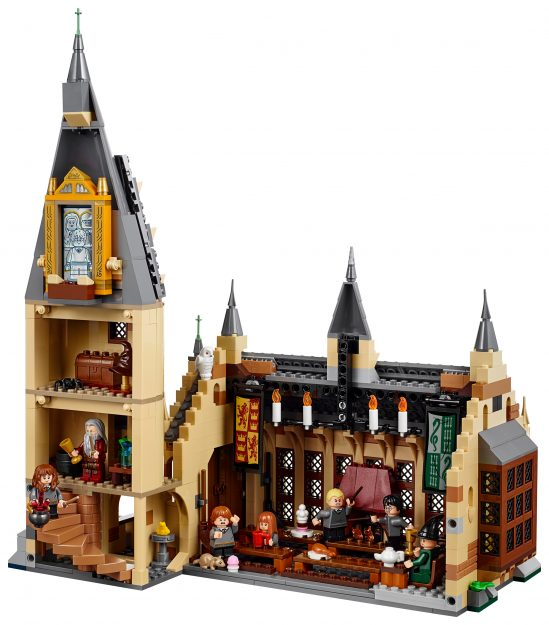 LEGO: nuovo set del castello di Hogwarts di Harry Potter