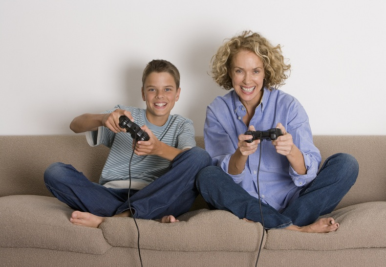 tua madre gioca ai videogame
