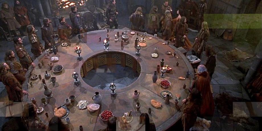 Chi diavolo re art stay nerd - Cavalieri della tavola rotonda ...