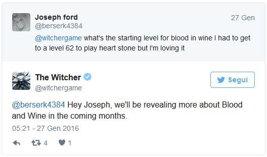 The witcher 3 siamo ancora lontani dall 39 arrivo di blood - Er finestra android ...