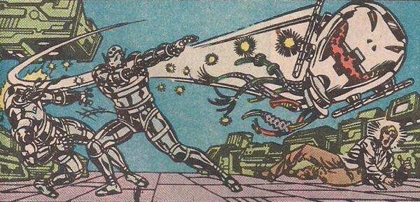 Ultron-12 distrutto da Ultron-11