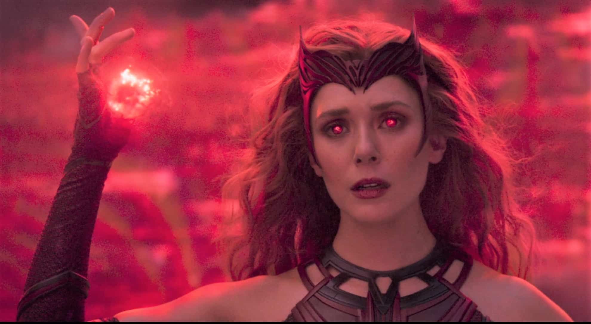 wandaVision Elizabeth Olsen Scarlet