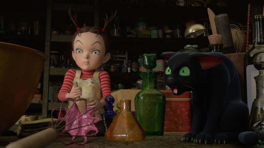 Earwig e la Strega Goro Miyazaki 2