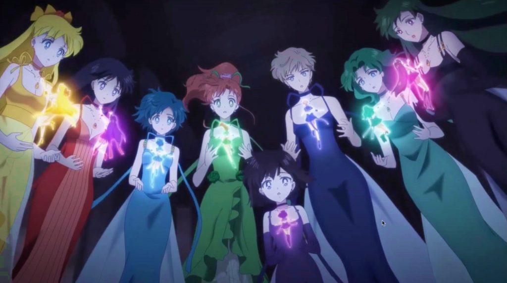 Pretty Guardian Sailor Moon Eternal film Netflix