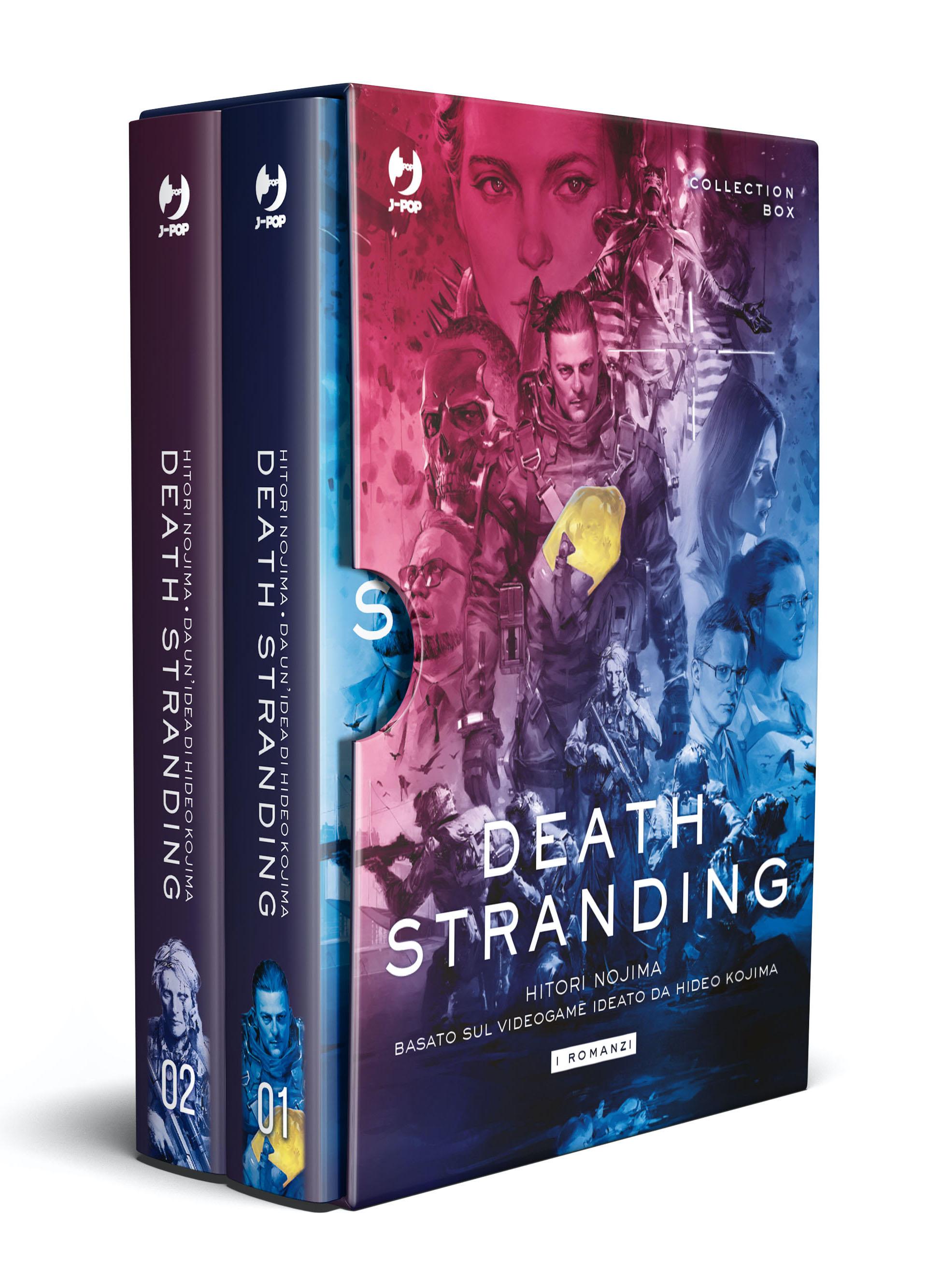 death stranding romanzo