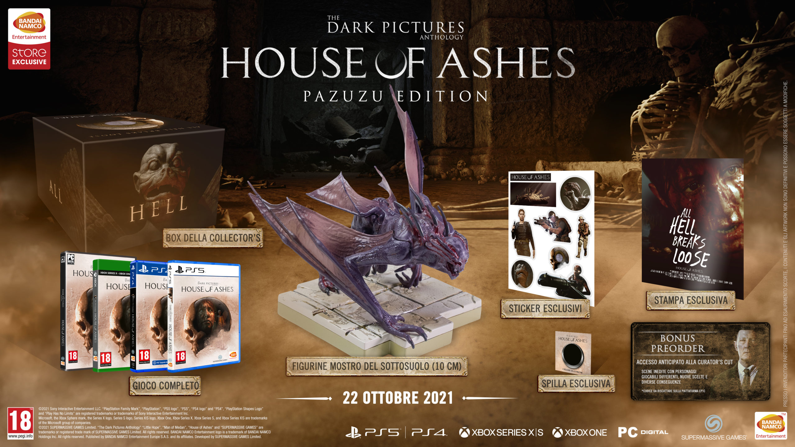 house ashes ottobre