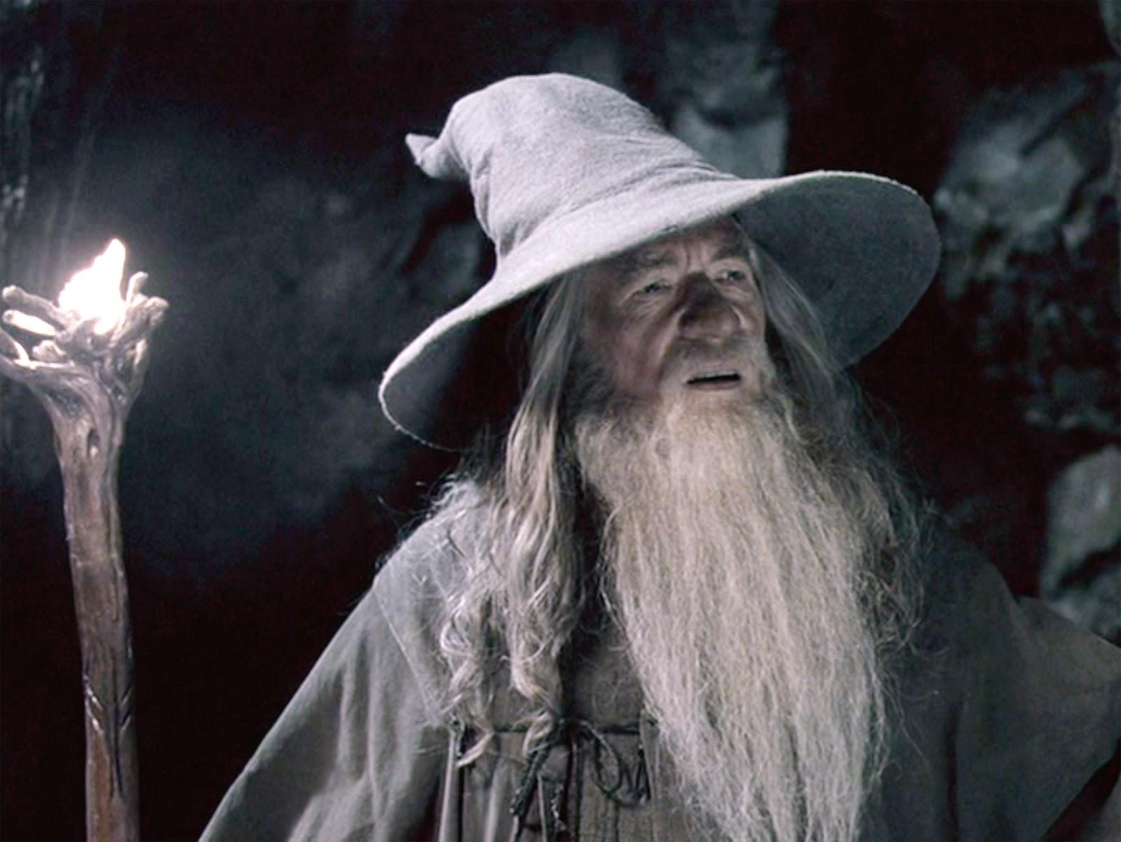 stranger things hopper gandalf