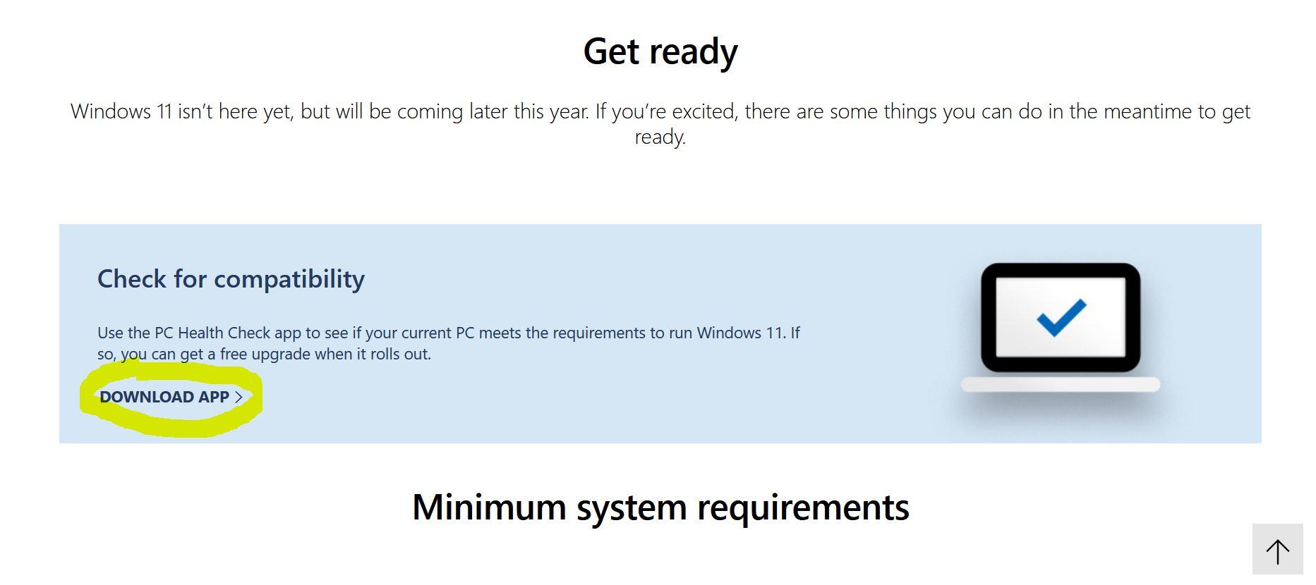 windows 11 aggiornamento