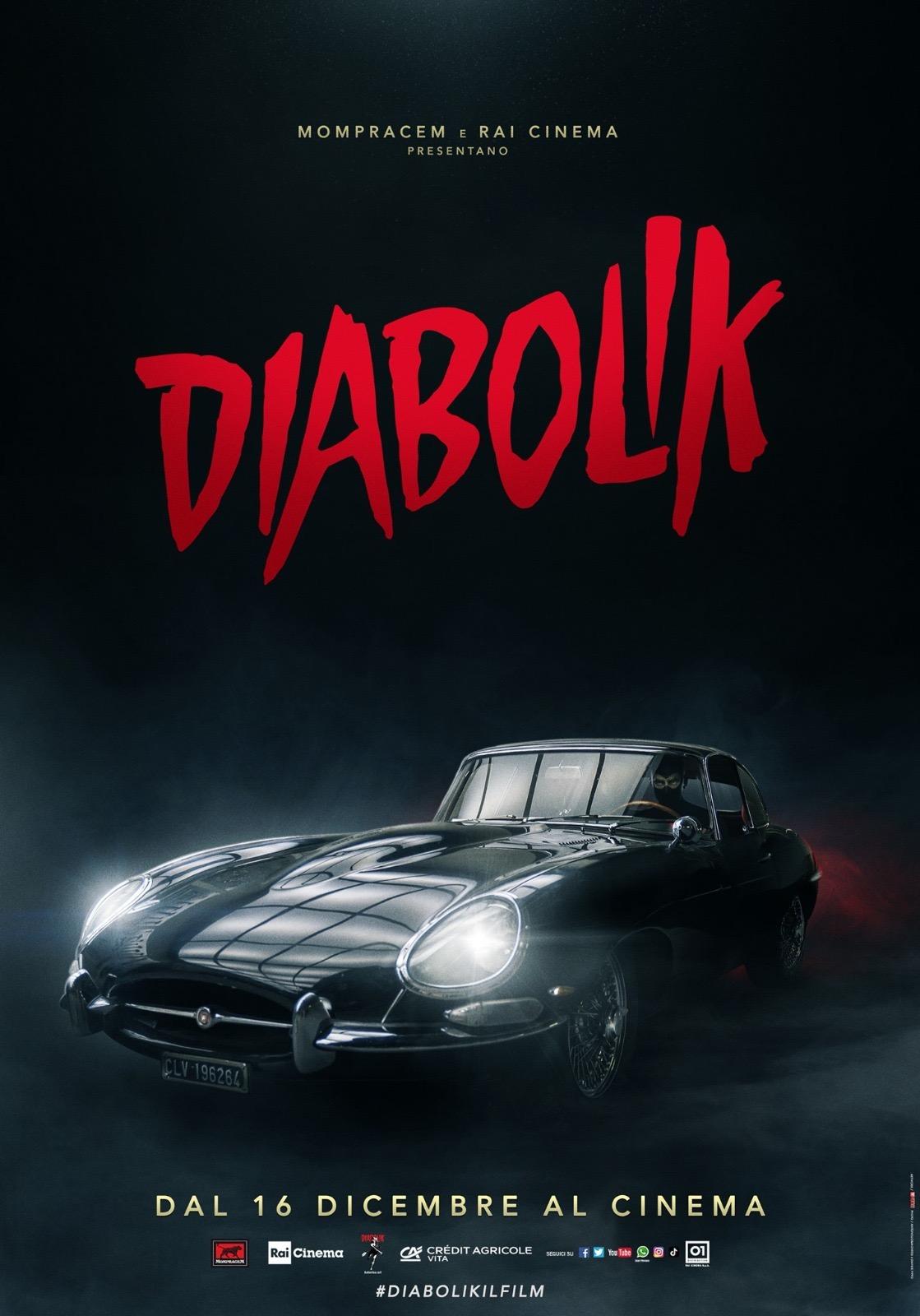 diabolik teaser poster