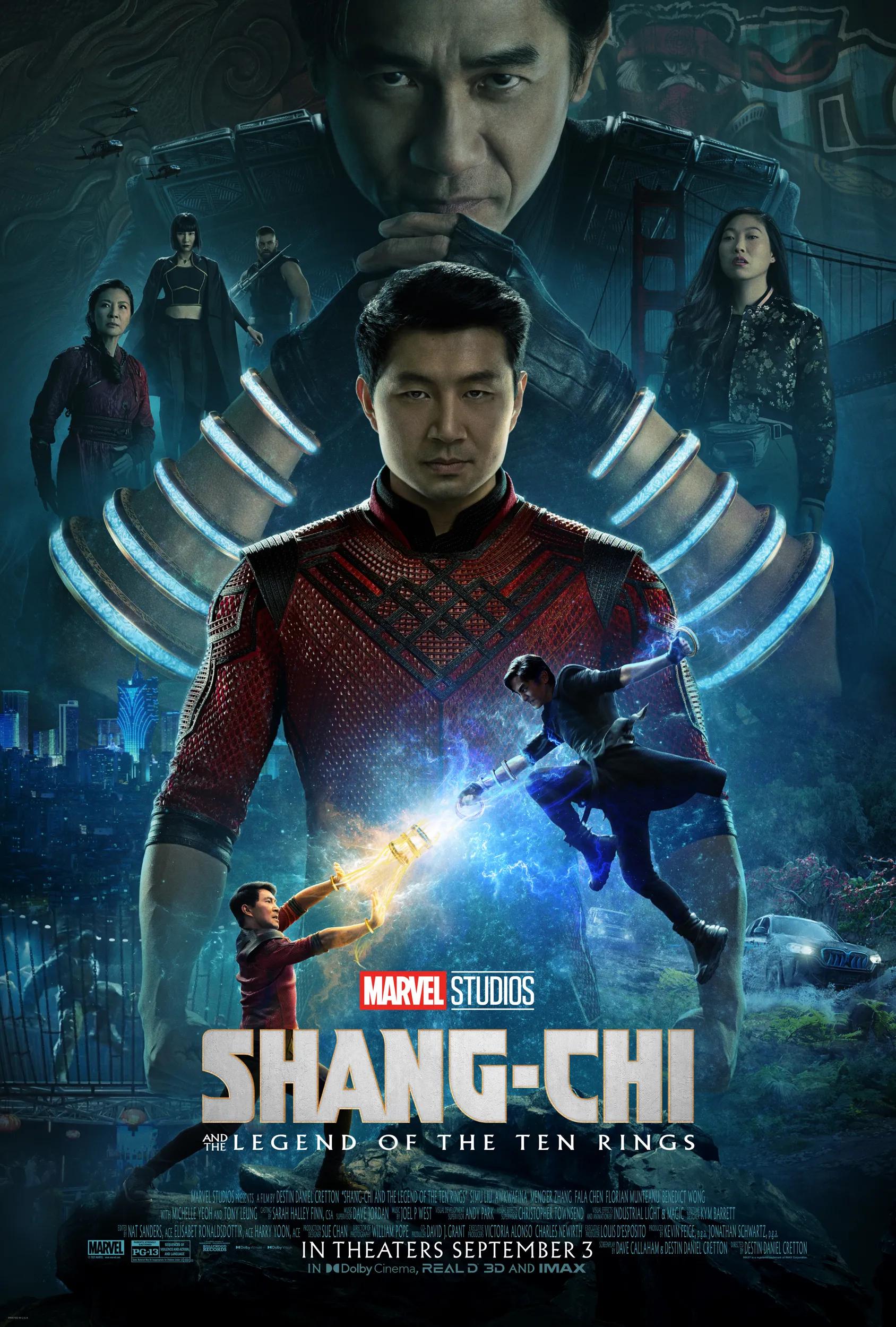 shang-chi nuovo poster