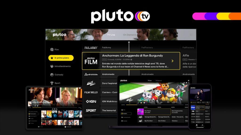 pluto tv italia