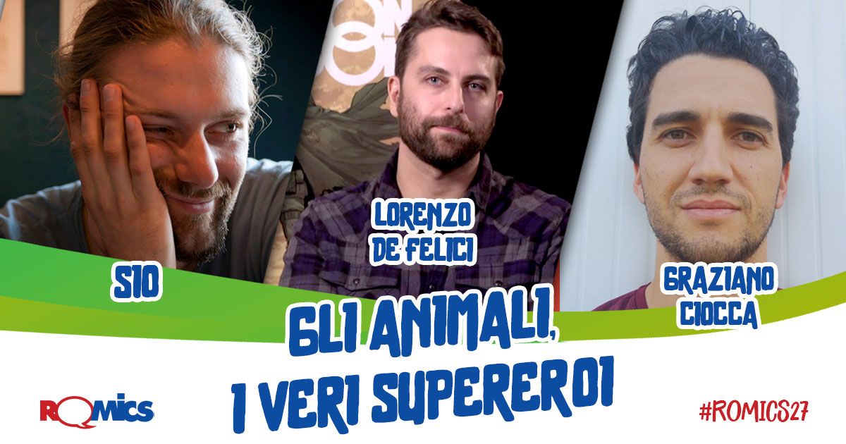 romics xxvii animali supereroi