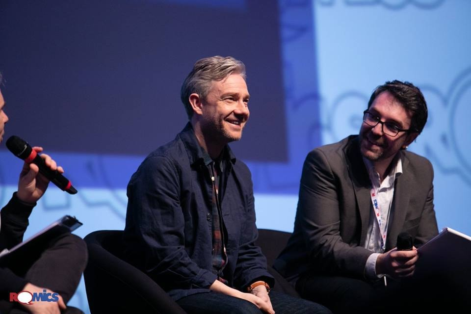 romics intervista martin freeman