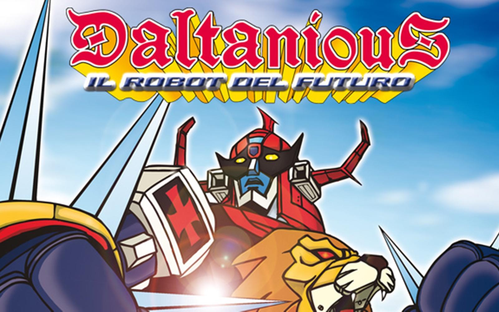 Daltanious il robot del futuro recensione dvd box set 1 for Futuro del classico