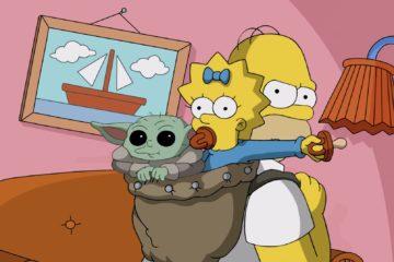 Baby Yoda Simpson