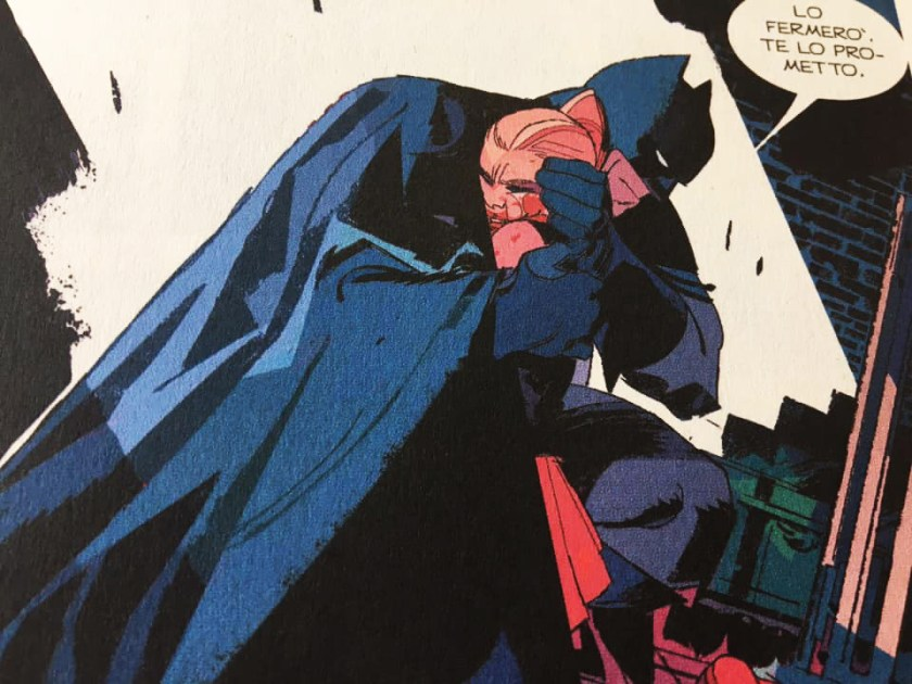 Batman Dylan Dog, una vignetta dell'albo introduttivo
