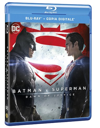 Batman v superman blu-ray