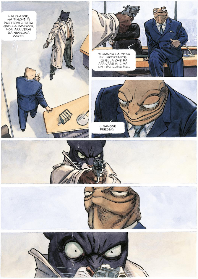 Blacksad fumetto