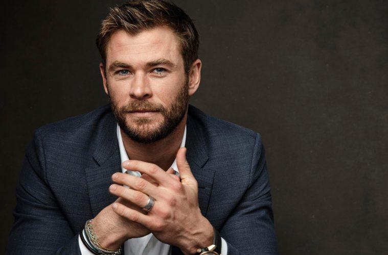 Chris Hemsworth pausa