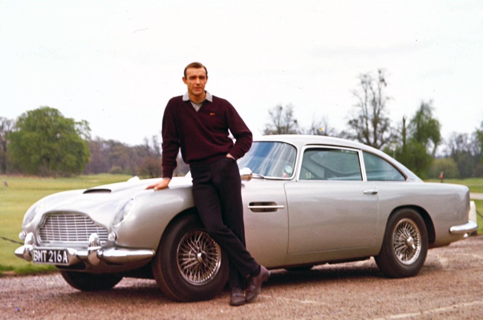 Image with Aston Martin DB5 James Bond