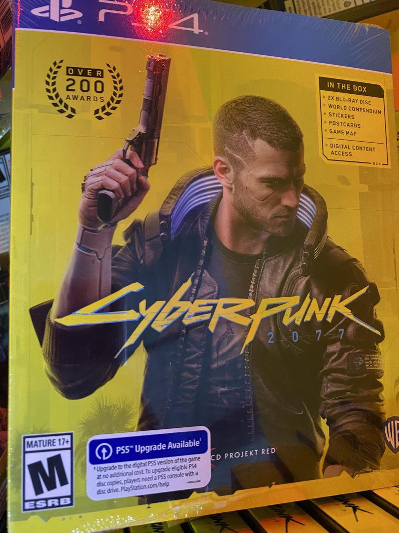 Cyberpunk 2077 retail