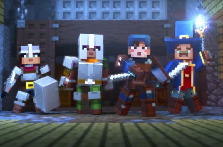 E3 Xbox Minecraft Dungeons