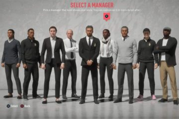 FIFA20 Career Mode