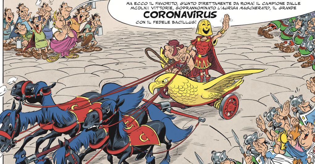 Fumetto Coronavirus 2