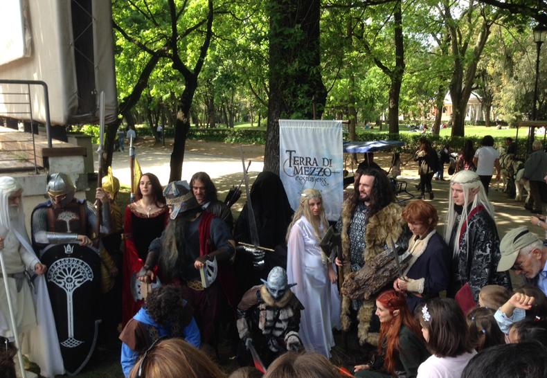 Lo hobbit day la battaglia dei cinque stand stay nerd - La battaglia dei cinque eserciti gioco da tavolo ...