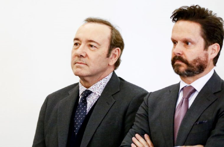 Kevin Spacey accuse cadute