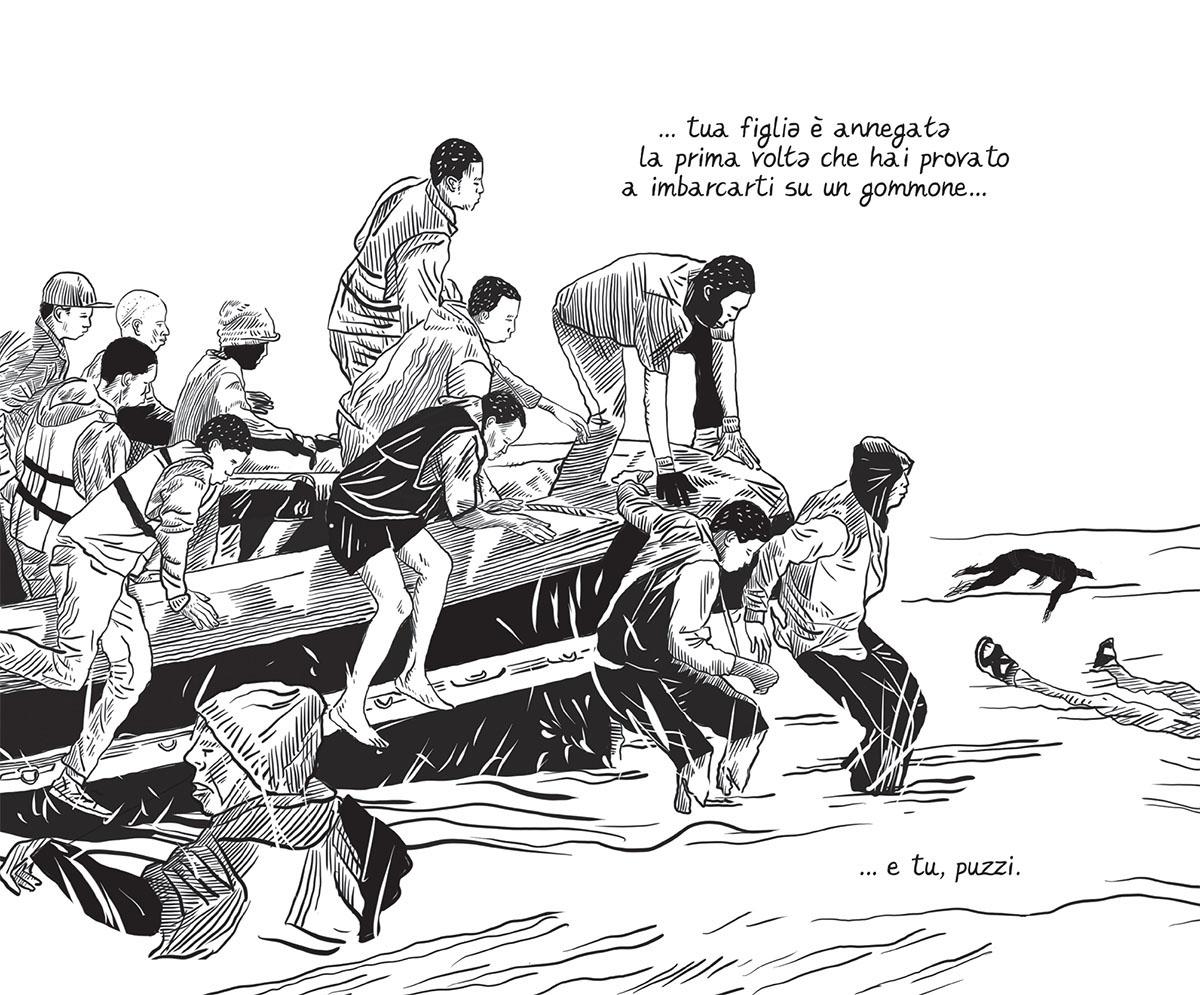 Libia Graphic Journalism