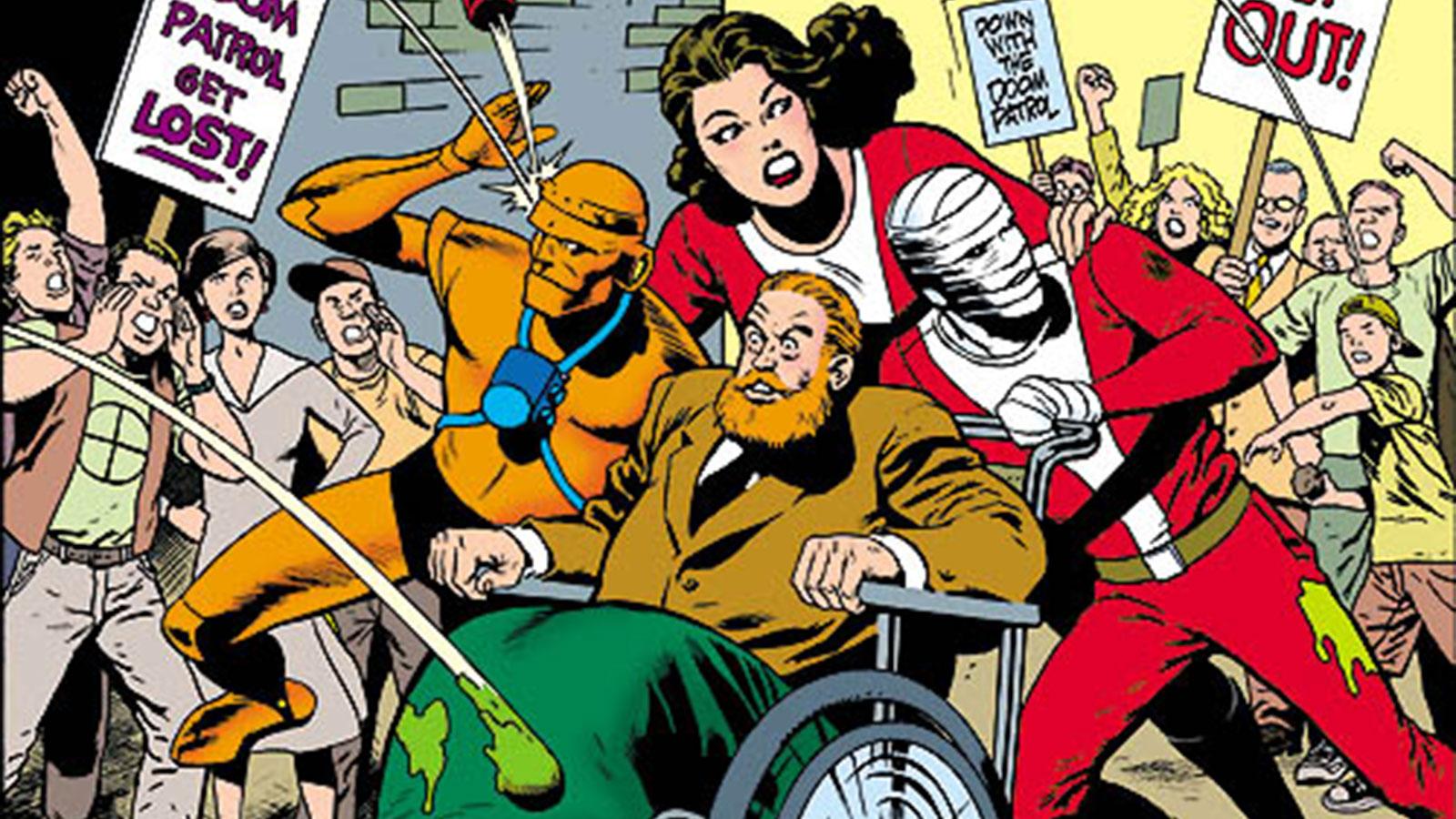 Marvel DC Comics Analogie
