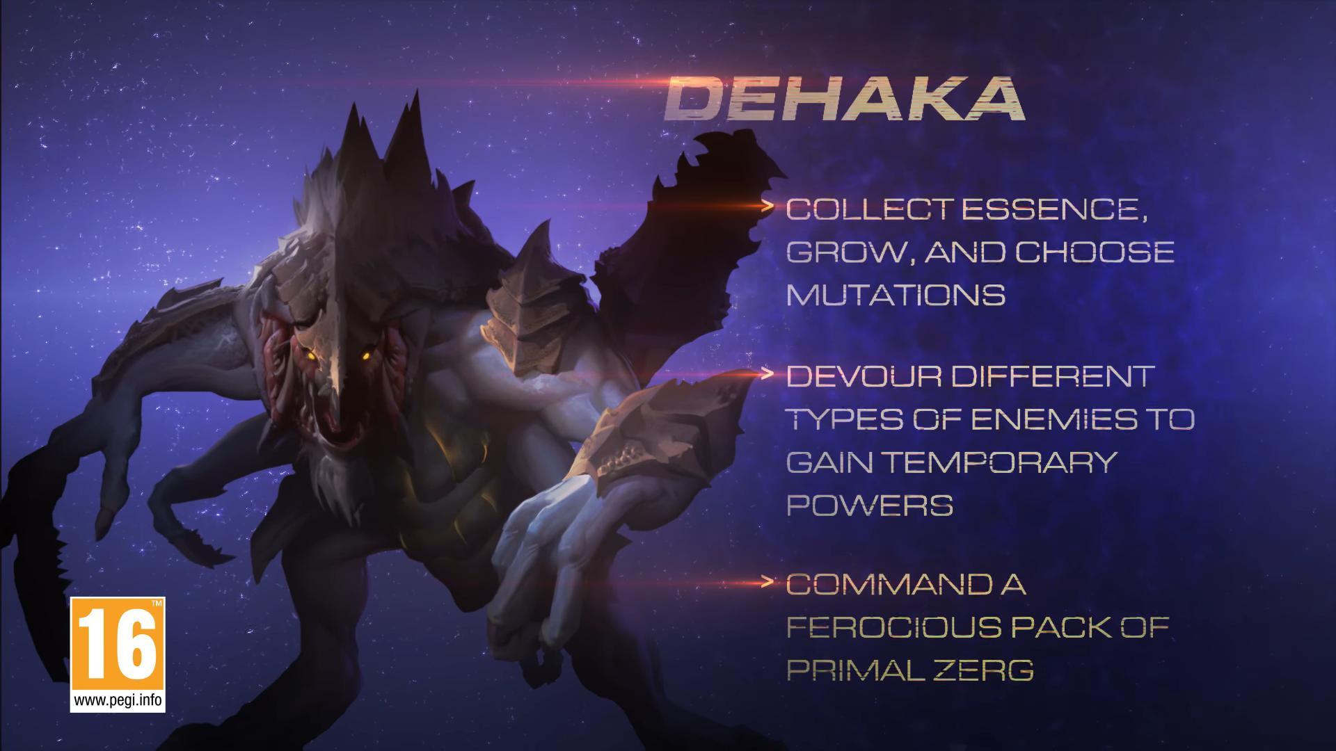 starcraft II dehaka gamescom
