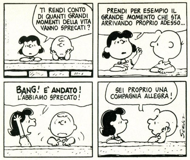 Charlie Brown e Lucy
