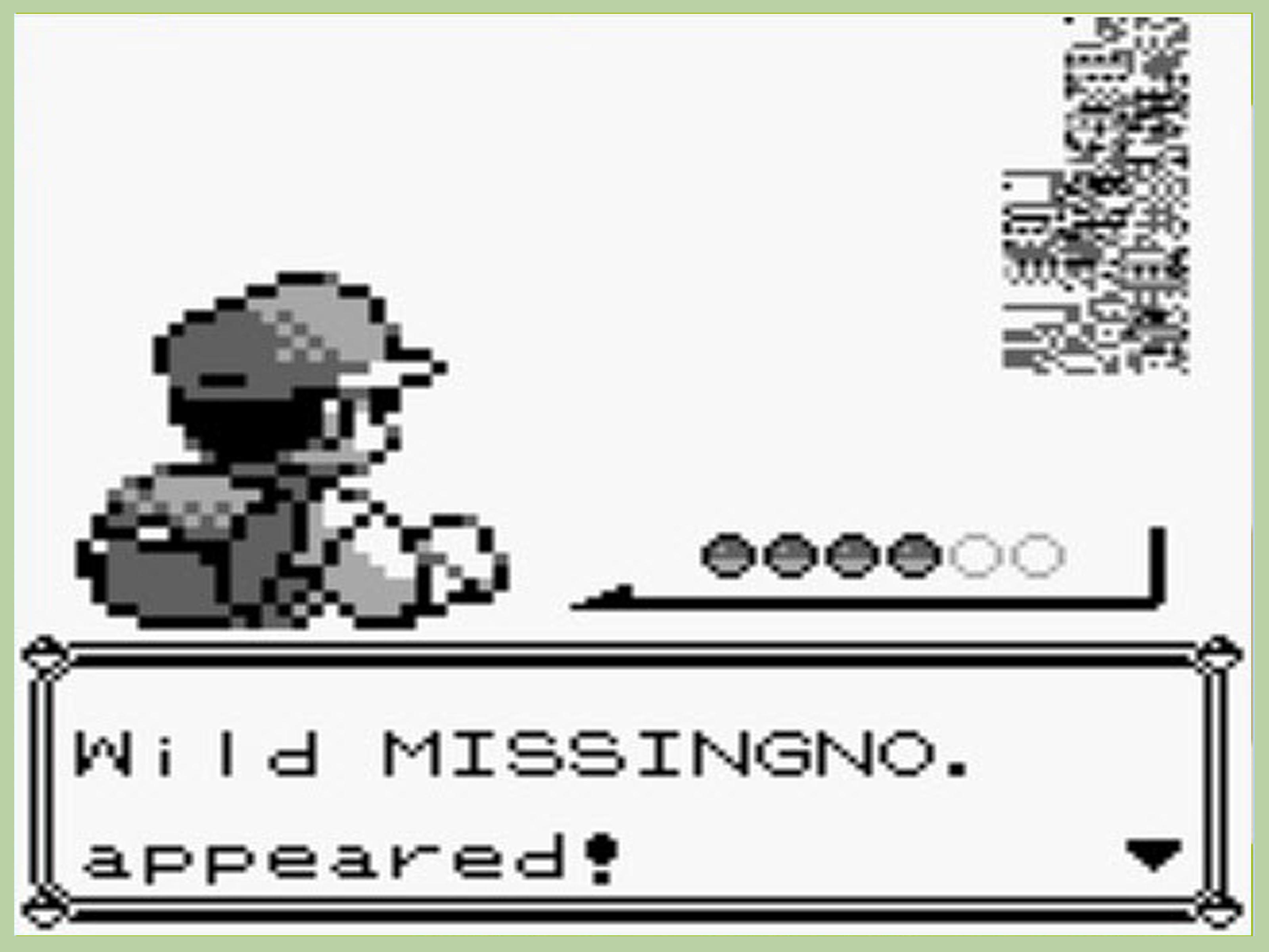 Pokémon e mistero missingno