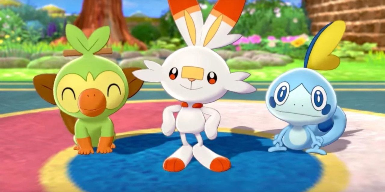 Pokemon spada scudo leak