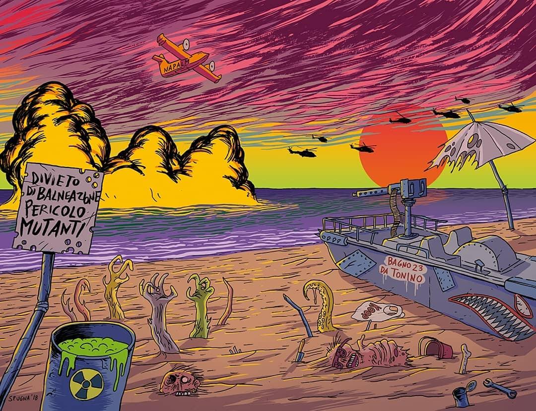Post apocalittico Riviera Napalm