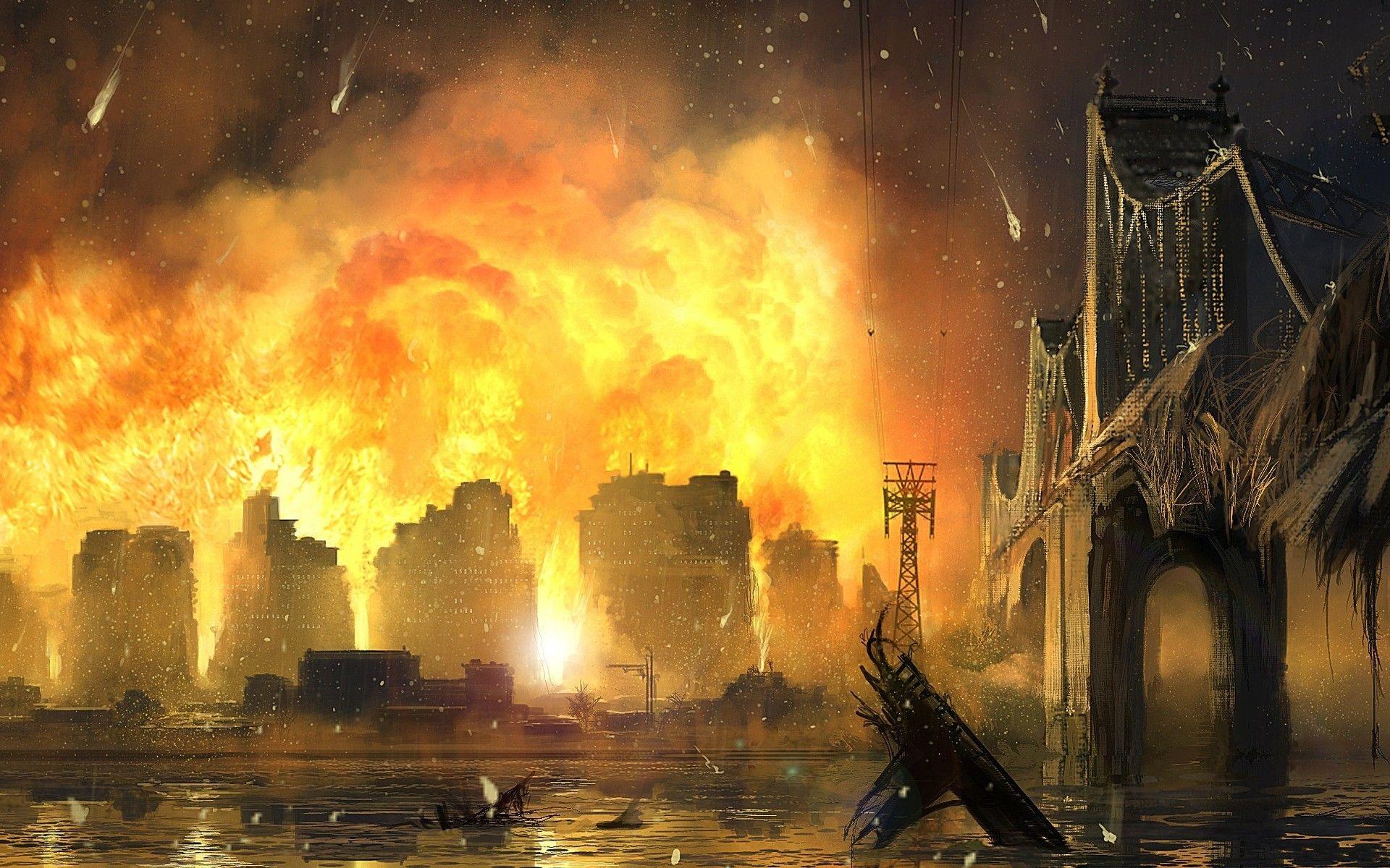 Post apocalittico fuoco