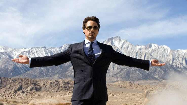 Robert Downey Jr Iron Man 01